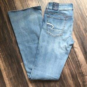 American Eagle Artist Flare Jeans - 10 X-Long